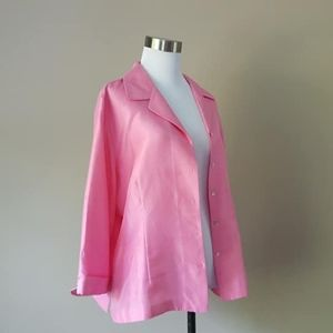 XL / Allison Taylor / Silk Blouse / Pink